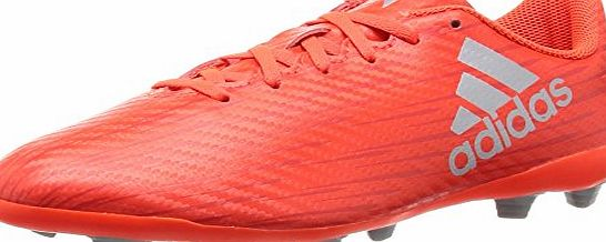 adidas X 16.4 FxG J - Football boots for Boys, 30, Red