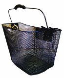 Adie Front Mesh Wire Basket With Quick Release Bracket