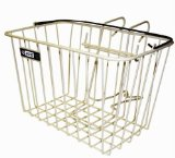Adie Front Wire Basket With Bracket White