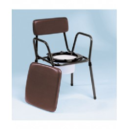 Adjustable LIGHTWEIGHT COMMODE CHAIR