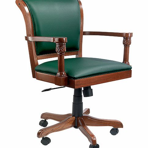admiral Italian Leather Office Chair - Green