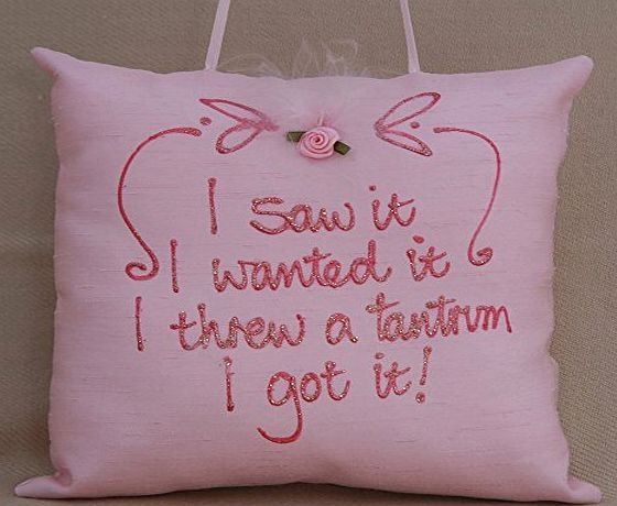 Adornment by Gilli Reeves I saw it I wanted it I threw a tantrum I got it. Hanging pillow.