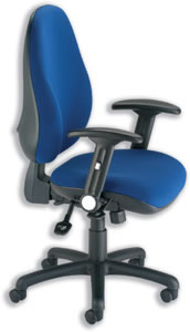 Adroit 24/7 Operator Chair Extended-use Back