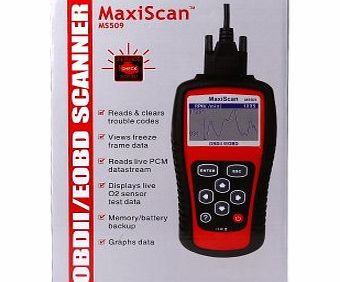 AGM MaxiScan MS509 CAN OBDII OBD2 Car Diagnostic Scan Tool Code Reader for Vehicle