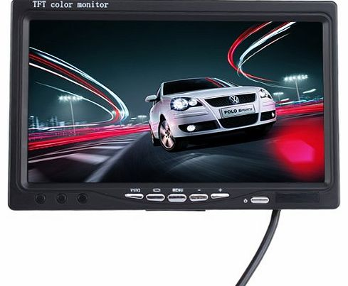 AGPtek® Car Wireless Back-up Camera System with 7 inch TFT LCD Color Monitor