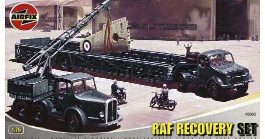 A03305 Airfield Recovery 1:76 Scale Series 3 Plastic Diorama Model Kit