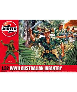 Airfix Australian Infantry Military Series 2