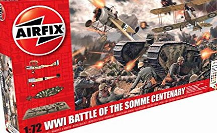 Airfix Model Kit A50178 Battle of the Somme Cente - Gift Set