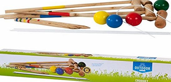 AK Sport Outdoor Play Croquet