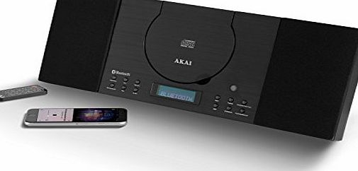Akai Compact Hifi System Speaker Cd Stereo Fm Radio With Bluetooth Electronics
