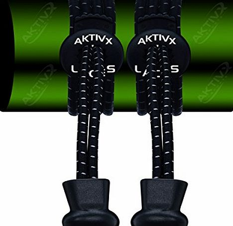AKTIVX SPORTS AKTIVX GOLF LACES No Tie Shoe Laces for Golf Shoes - Voted The #1 Golf Gift of 2016 - Top Golf Accessories for Golfers - Replacement Golfing Shoelaces amp; Golf Equipment