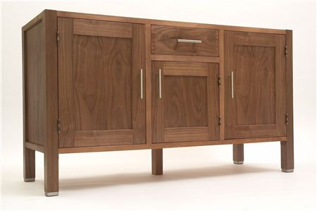 3 Door- 1 Drawer Sideboard
