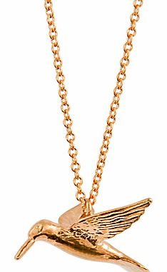 Gold Hummingbird Necklace