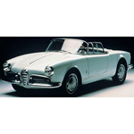 alfa romeo Giulia Spider 1962 Light Blue
