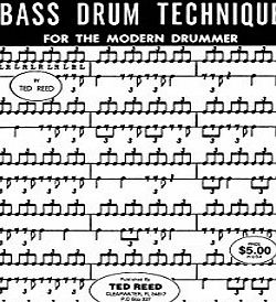Alfred Music ALFRED PUBLISHING REED TED - PROGRESSIVE STEPS TO BASS DRUM TECHNIQUE - DRUM Educational books Percussion