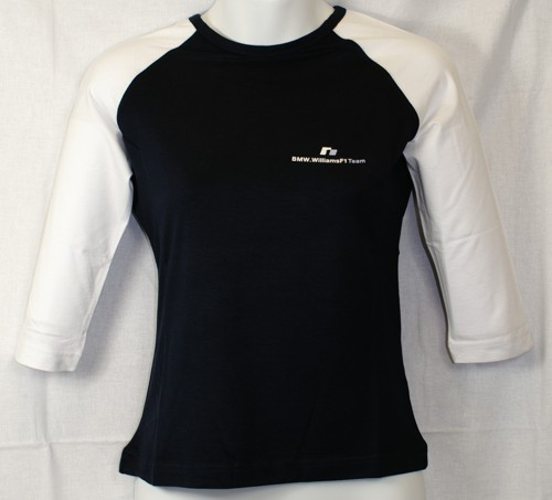 BMW Williams Ladies 3/4 Arm Shirt