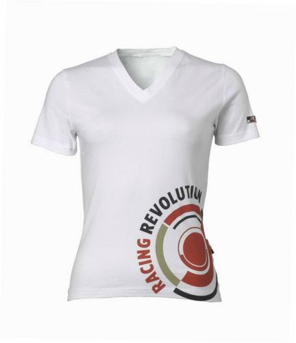 Ladies BAR Honda T-shirt white