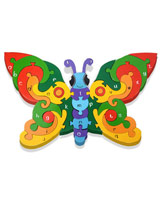 Alphabet Butterfly Jigsaw Puzzle - educational