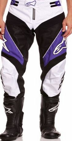 Alpinestars A-Line Downhill Pants - Violet/White, US 34, EU 50