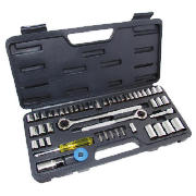 52pc Budget Socket Set