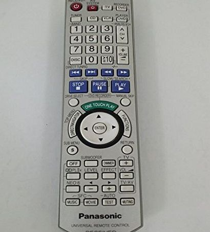 Amandany Generic EUR7662YNO Remote Control For Panasonic DVD Home Theater System Receiver