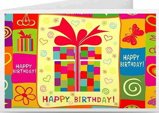Amazon EU S.à.r.l. Happy Birthday (Gift-Wrapped) - Printable Amazon.co.uk Gift Certificate