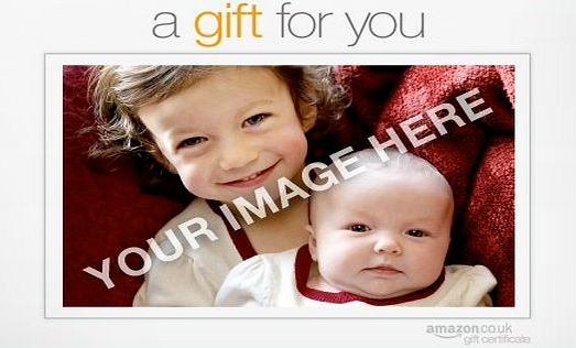 Amazon EU S.à.r.l. Upload Your Photo - Gift for You - Printable Amazon.co.uk Gift Certificate