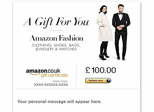 Amazon EU S.à.r.l. Clothing Store - E-mail Amazon.co.uk Gift Card