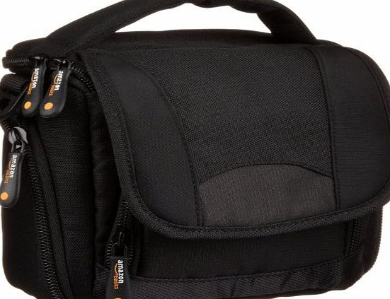 AmazonBasics Camcorder Bag with Shoulder Strap Black