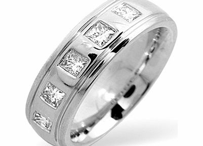 Ampalian Jewellery 18 Carat White Gold Diamond Ring (188)