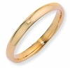 Ampalian Jewellery 18 ct. Yellow Gold 3mm Court Shaped Band