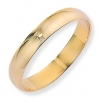 Ampalian Jewellery 18 ct. Yellow Gold 4mm D-Shaped Band