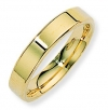 Ampalian Jewellery 9 ct. Yellow Gold 4mm Flat Court Shaped Band