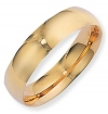 Ampalian Jewellery 9 ct. Yellow Gold 6mm Court Shaped Band