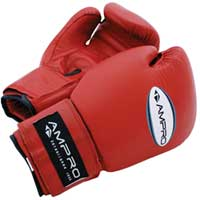 Fighter Sparring Glove Red 14oz