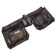 12 Pocket Heavy Duty Leather Tool Pouch