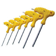 6Pc T Handle Torx Screwdriver Set L0750