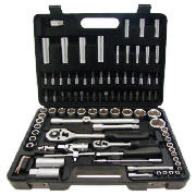 94Pc 1/2 & 1/4 Dr. Socket Set I0640