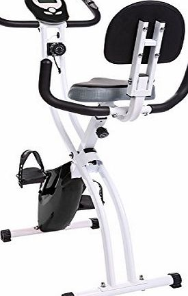 Ancheer Indoor Magnetic Folding Exercise Bike