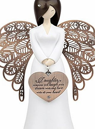 Angels You Are An Angel Figurines - a daughter is someone you laugh with dream with and love with all your heart