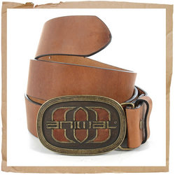 Corp Leather Belt Brown
