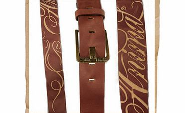 Lift Leather Belt Brown