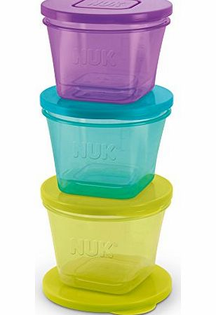 Annabel Karmel Nuk Annabel Karmel Stackable Freezer Feeding Pots PACK OF 6