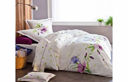 Anne De Solene Exuberance Figue Bedding Flat Sheet 180 x 290cm
