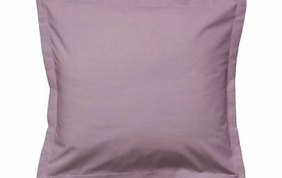 Anne De Solene Vexin Cotton Percale Plain Dye Bedding Volcan