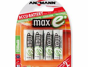 maxE AA PLUS Pre-Charged Batteries -