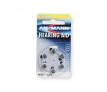 Zinc Air ZA10 (PR70) Hearing Aid