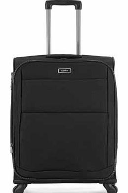 Tourlite Small 4 Wheel Suitcase - Black