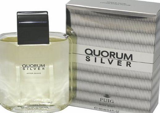 Antonio Puig Puig Quorum Silver After Shave Lotion 100ml