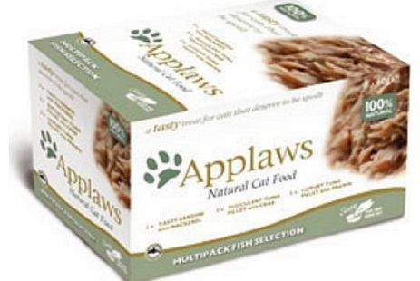 Applaws Cat Multi Pack Pot Fish Selection 60 g (Pack of 2)